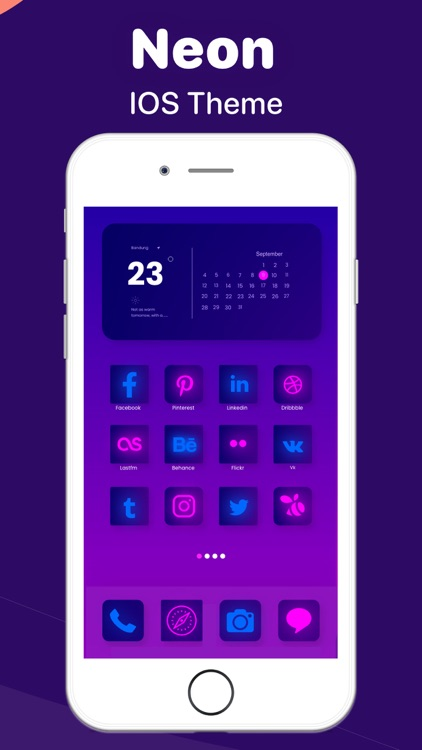 Colorful Widget go home screen screenshot-6