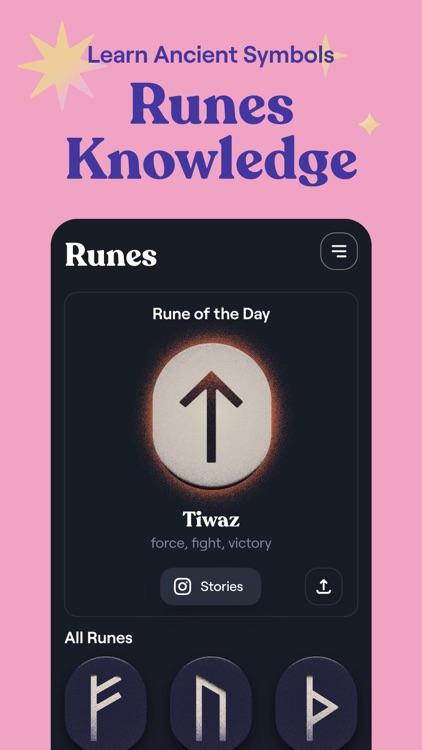 Moonly: Moon Calendar & Runes screenshot-3