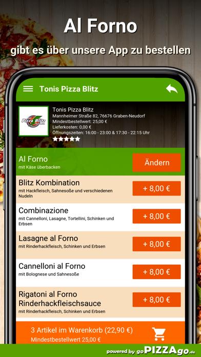 Pizza Blitz Graben-Neudorf screenshot 6