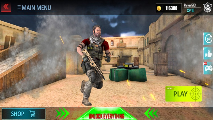 Special forces Fps Shooter PVP screenshot-3