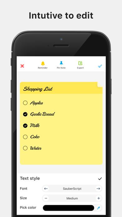 Color Note - Notepad screenshot 3