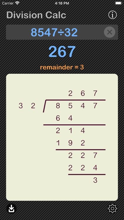 Division Calculator screenshot-8
