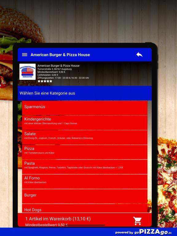 American Burger Augsburg screenshot 8