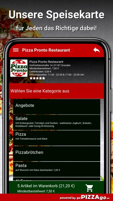 Pizza Pronto Dresden screenshot 4