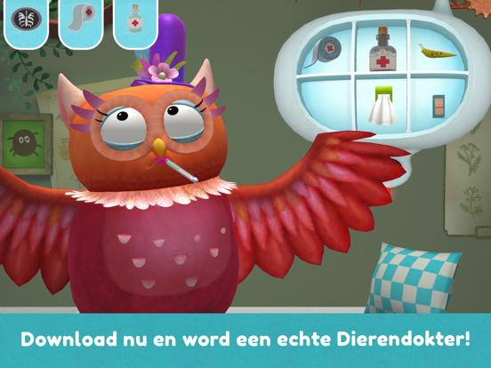 Little Fox Dierendokter 3D iPad app afbeelding 5