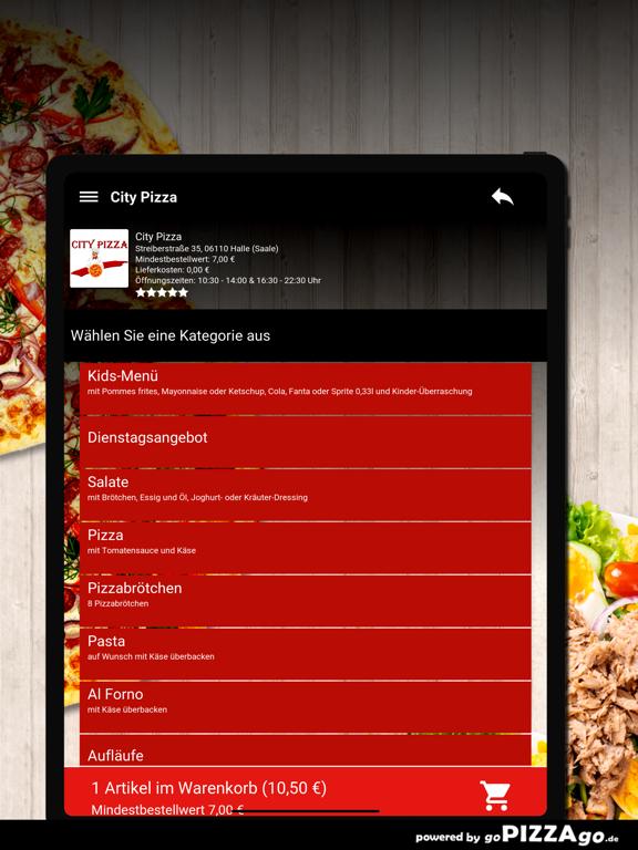 City Pizza Halle (Saale) screenshot 8
