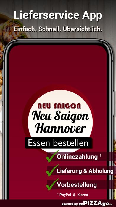 Neu Saigon Restaurant Hannover screenshot 1