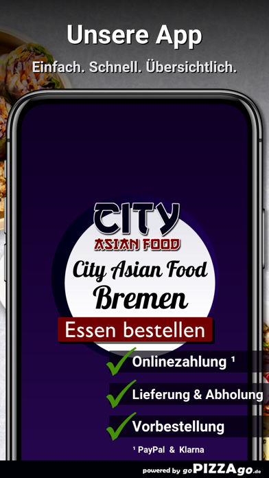 City Asian Food Bremen screenshot 1