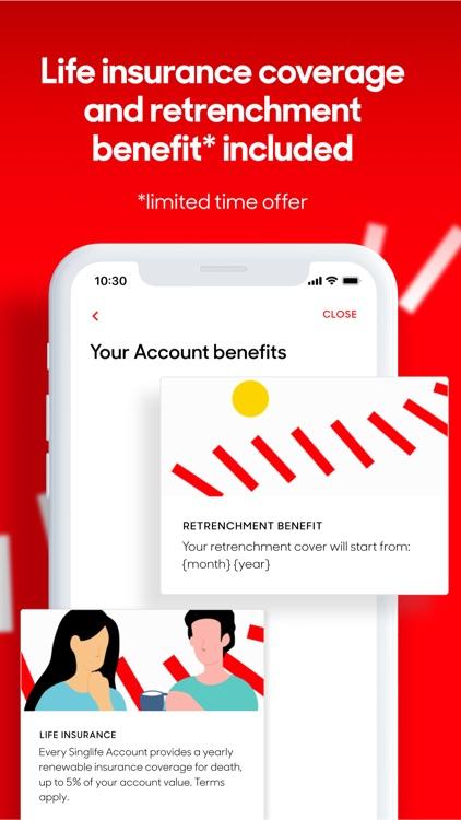 Singlife | Investing & Saving screenshot-5