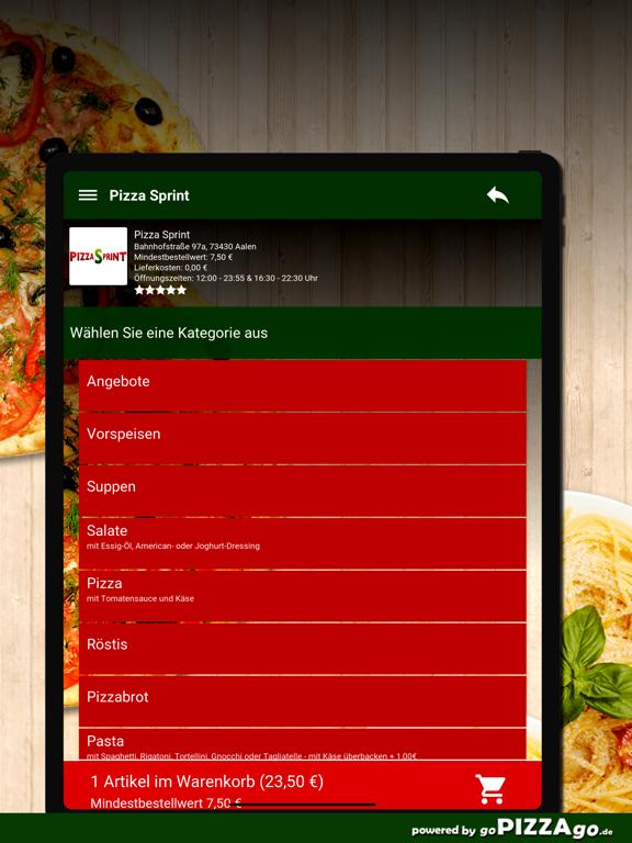 Pizza Sprint Aalen screenshot 8