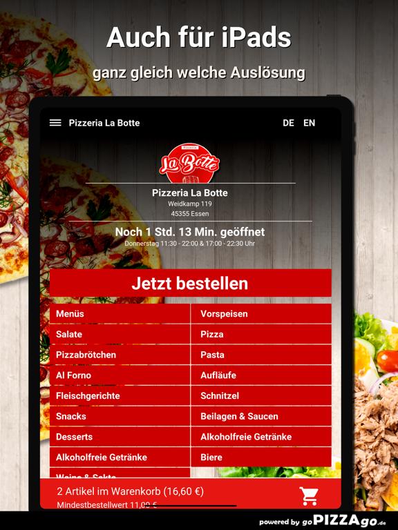 Pizzeria La Botte Essen screenshot 7