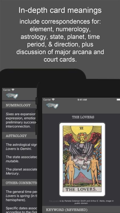 Tarot Simple: Cards & Readings screenshot-5