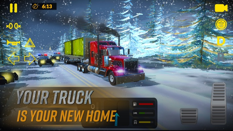 Truck Simulator USA American screenshot-3