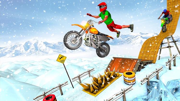 Bike Stunt Racing Games 2021 screenshot-4