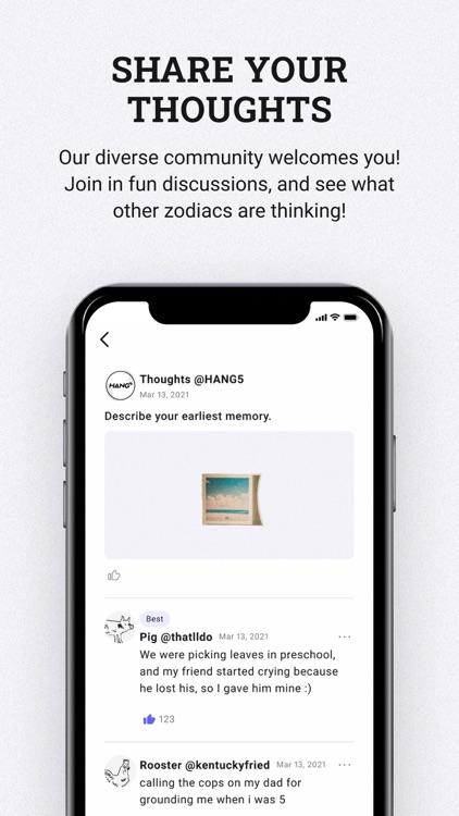 HANG5 - Find your zodiac & bff screenshot-3