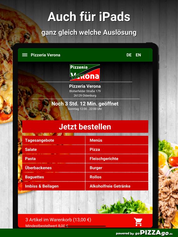 Pizzeria Verona Oldenburg screenshot 7