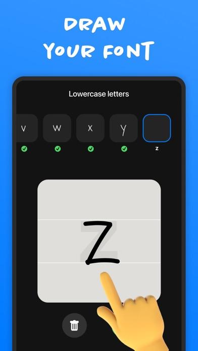 Fontmaker - Font Keyboard App screenshot 2