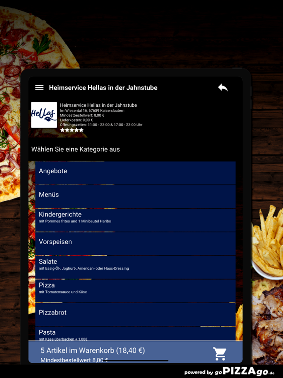 Hellas Kaiserslautern screenshot 8