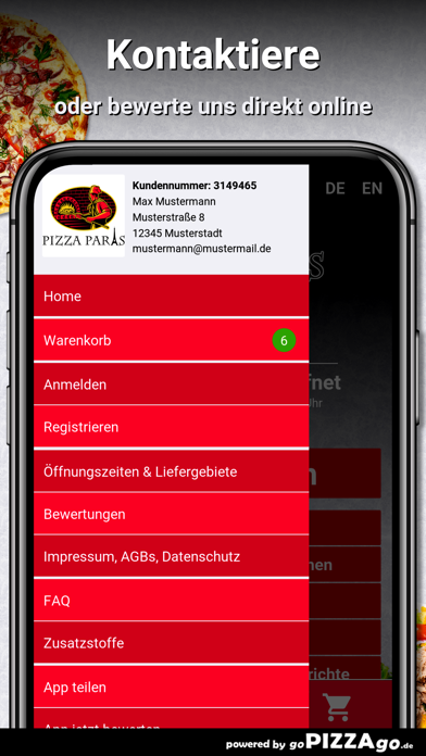 Pizza Paris Castrop-Rauxel screenshot 3