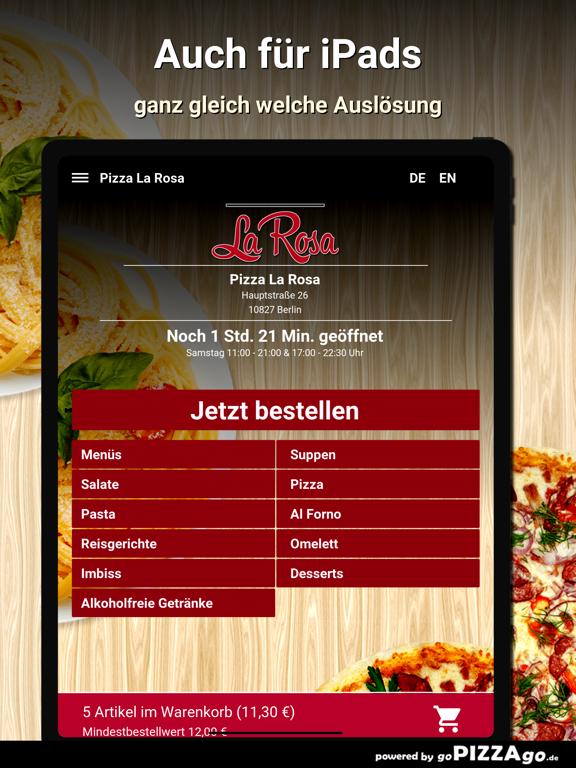 Pizza La Rosa Berlin screenshot 7