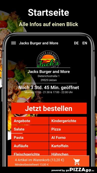 Jacks Burger and More Uelzen screenshot 2