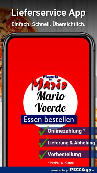 Pizzeria Mario Voerde screenshot 1