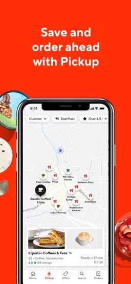 DoorDash app screenshot
