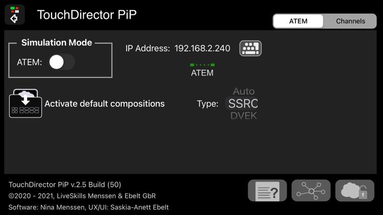 TouchDirector PiP screenshot-8