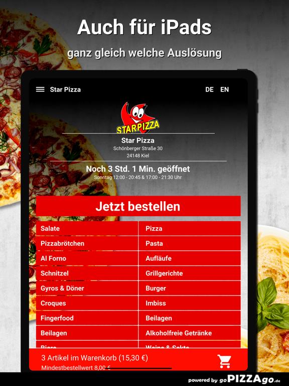 Star Pizza Kiel screenshot 7
