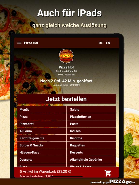 Pizza Hof München screenshot 7