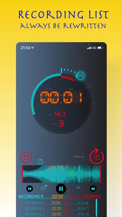 EnVave - Voice Recorder screenshot-4