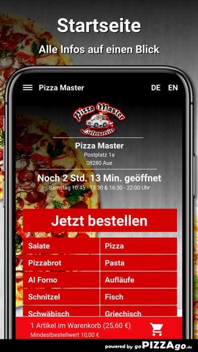 Pizza Master Aue screenshot 2