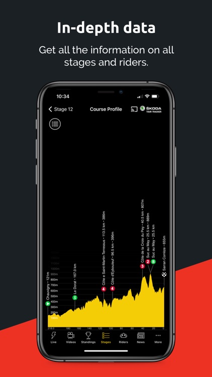 SBS ŠKODA Tour Tracker 2021 screenshot-3