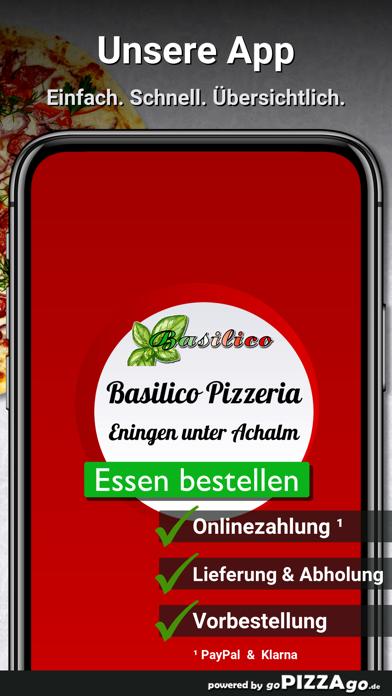 Basilico Pizzeria Eningen unte screenshot 1