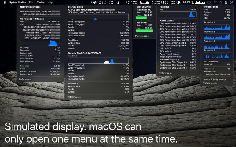 System Monitor Screenshot