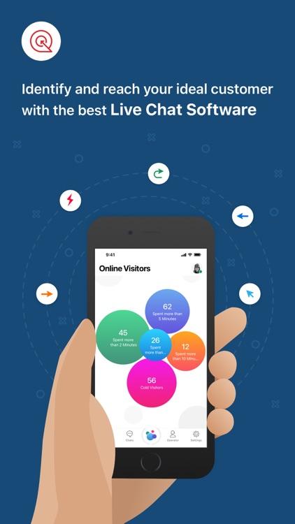 Zoho SalesIQ - Live Chat App screenshot-0