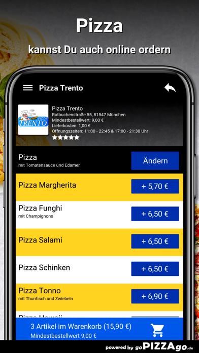 Pizza-Trento München screenshot 5