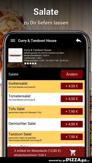 Curry&Tandoori House Frankfurt screenshot 5