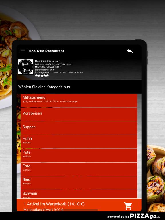 Hoa Asia Restaurant Hannover screenshot 8