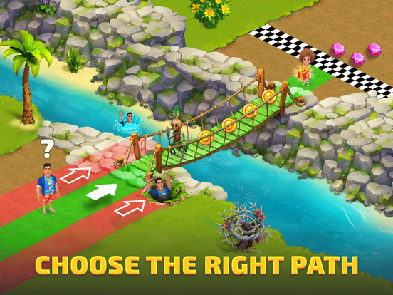 Bermuda Adventures: Farm Games iPad app afbeelding 1