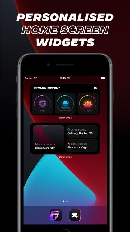 Ultrahuman: Workout & Sleep screenshot-8