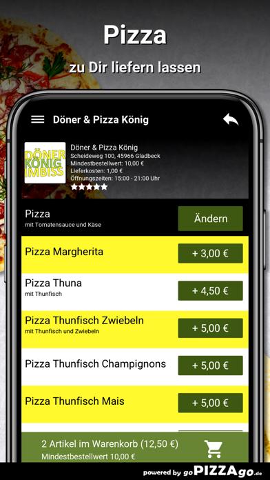 Döner & Pizza König Gladbeck screenshot 5