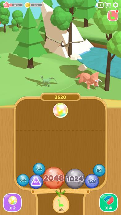 恐竜 2048 3Dのおすすめ画像2