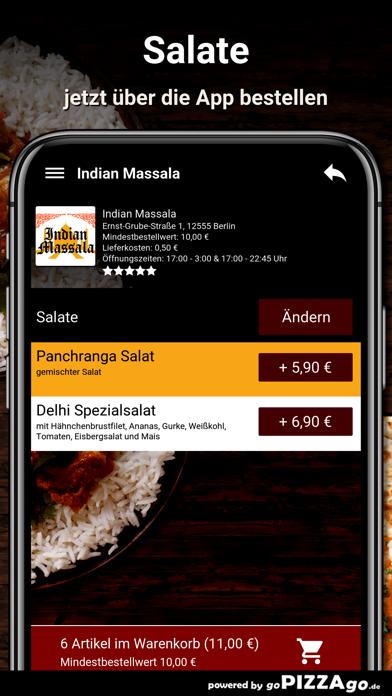 Indian Massala Berlin screenshot 5