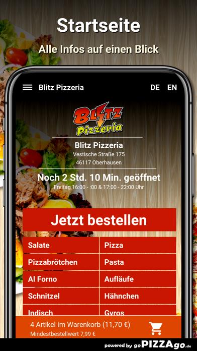 Blitz Pizzeria Oberhausen screenshot 2