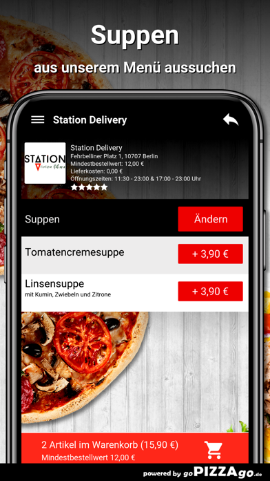 Station Delivery Berlin screenshot 5