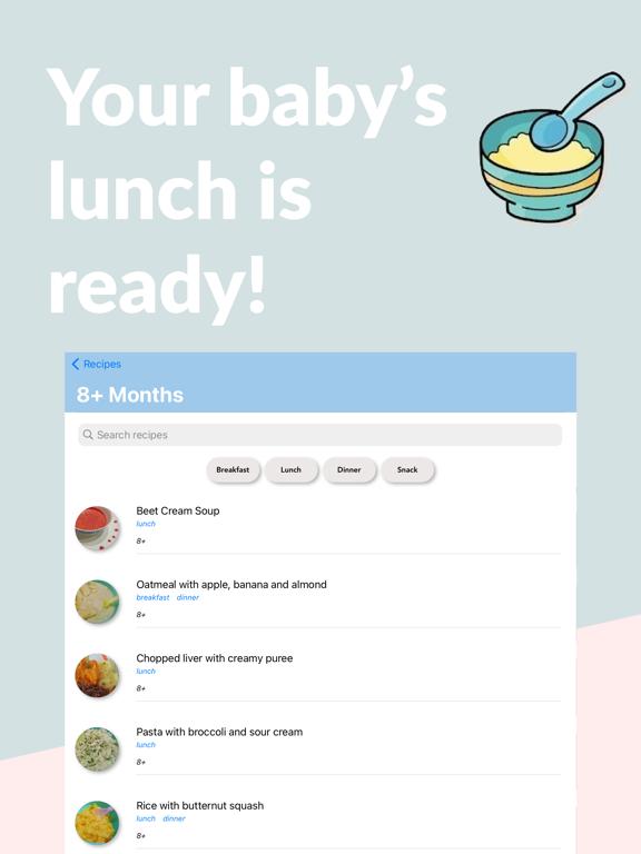 Baby Solids Food Tracker screenshot 5