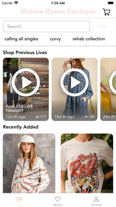 Maklee Ryann Boutique screenshot 2