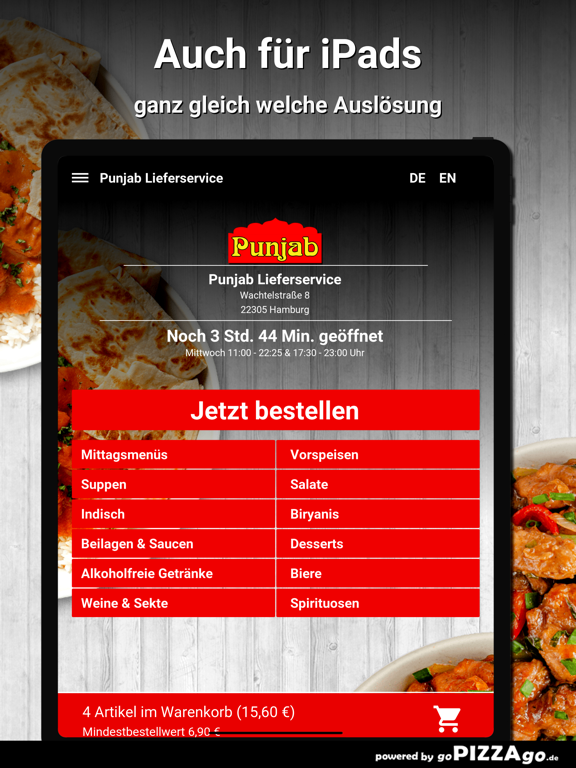 Punjab Lieferservice Hamburg screenshot 7