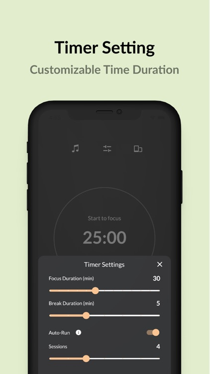 Pomodoro Timer - Foca screenshot-3